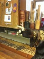 Finger - Holzergänzung